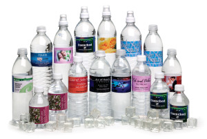 etichette bottiglie acqua