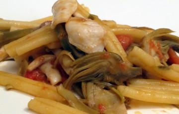 CASARECCE carciofi e pancetta