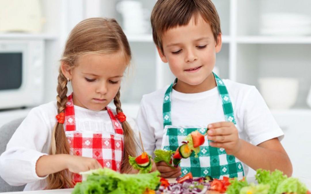 Cucinare con i bimbi da 3 a 11 anni