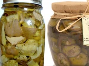 funghi-olio-aceto-etichetta
